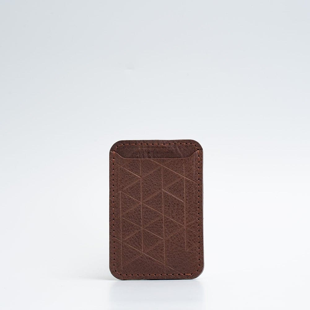 geometric magsafe wallet