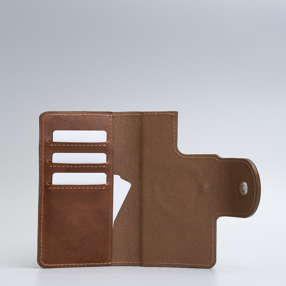 Leather folio wallet with Magsafe 1.0