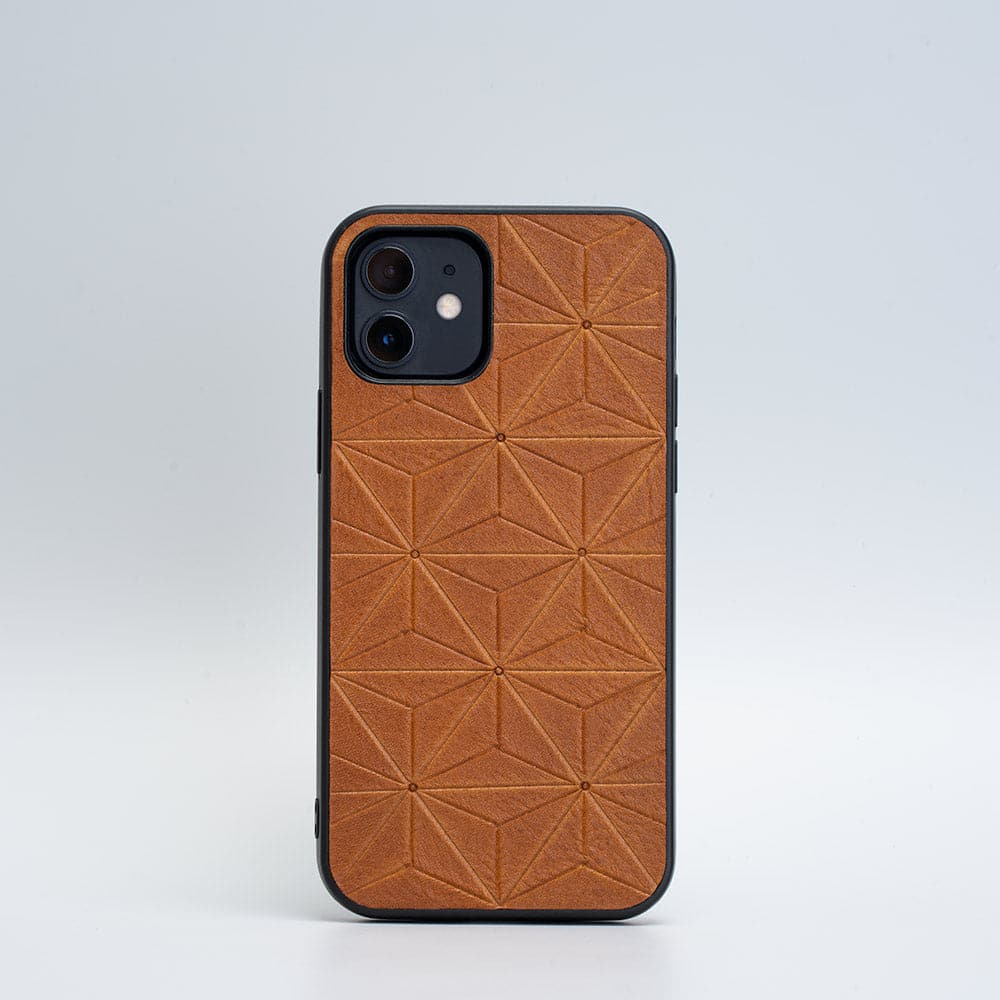 iPhone 12 leather cover
