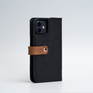 iPhone 12 leather folio wallet Magsafe