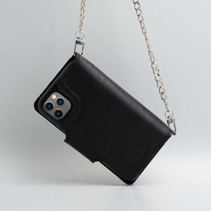 Leather crossbody iPhone 11 Prom Max & 11 Pro cases