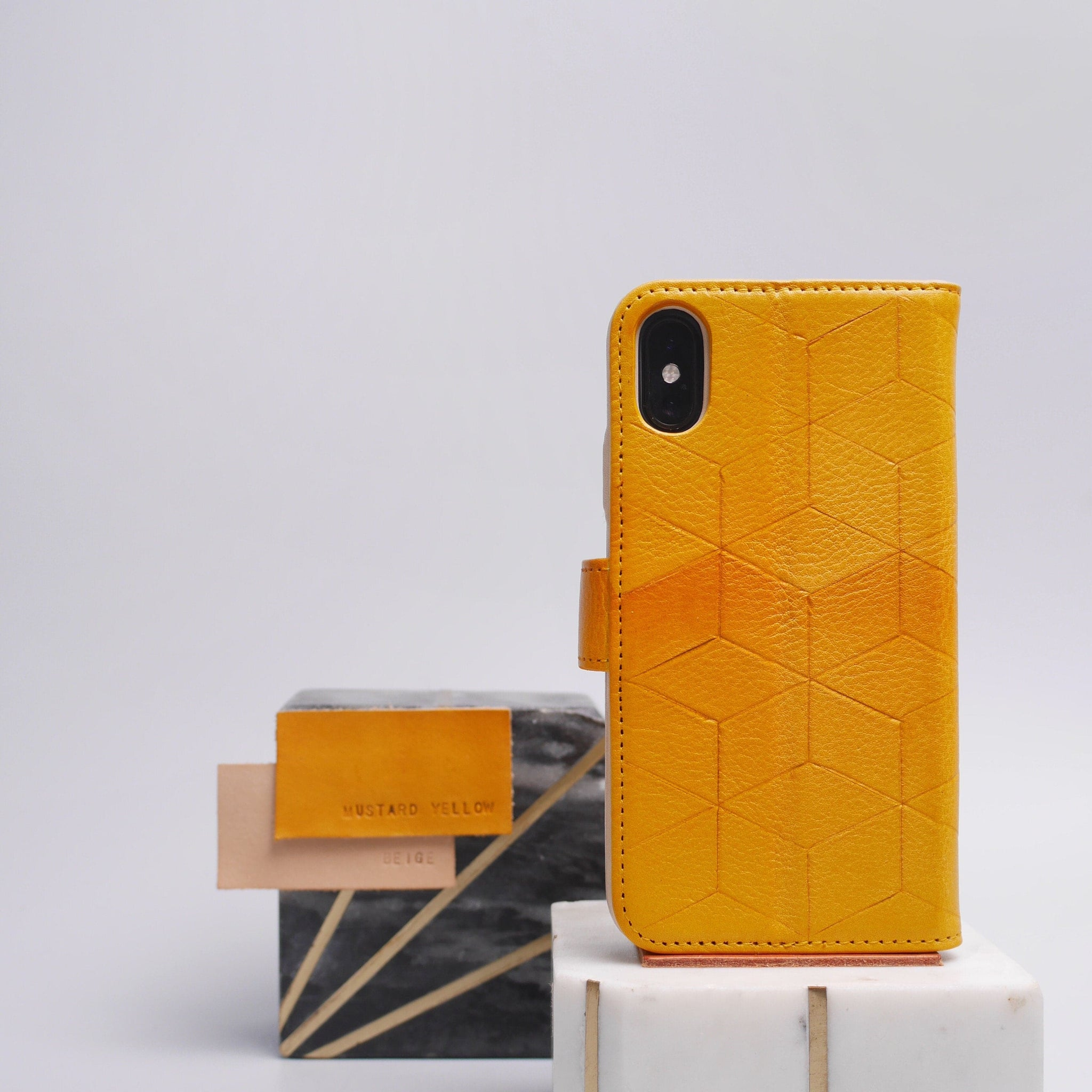 leather iPhone x wallet case