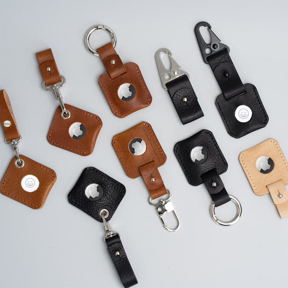 Leather accessory for AirTag