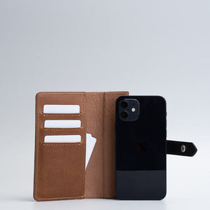 leather iPhone wallet with magsafe