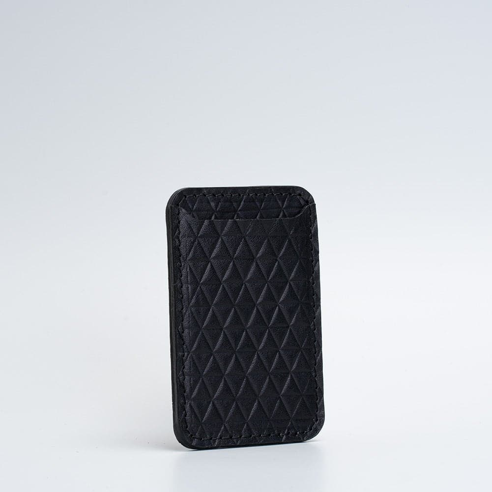 leather magsafe wallet Geometric Goods