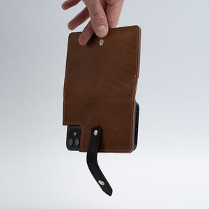 iPhone 12 leather wallet with magsafe