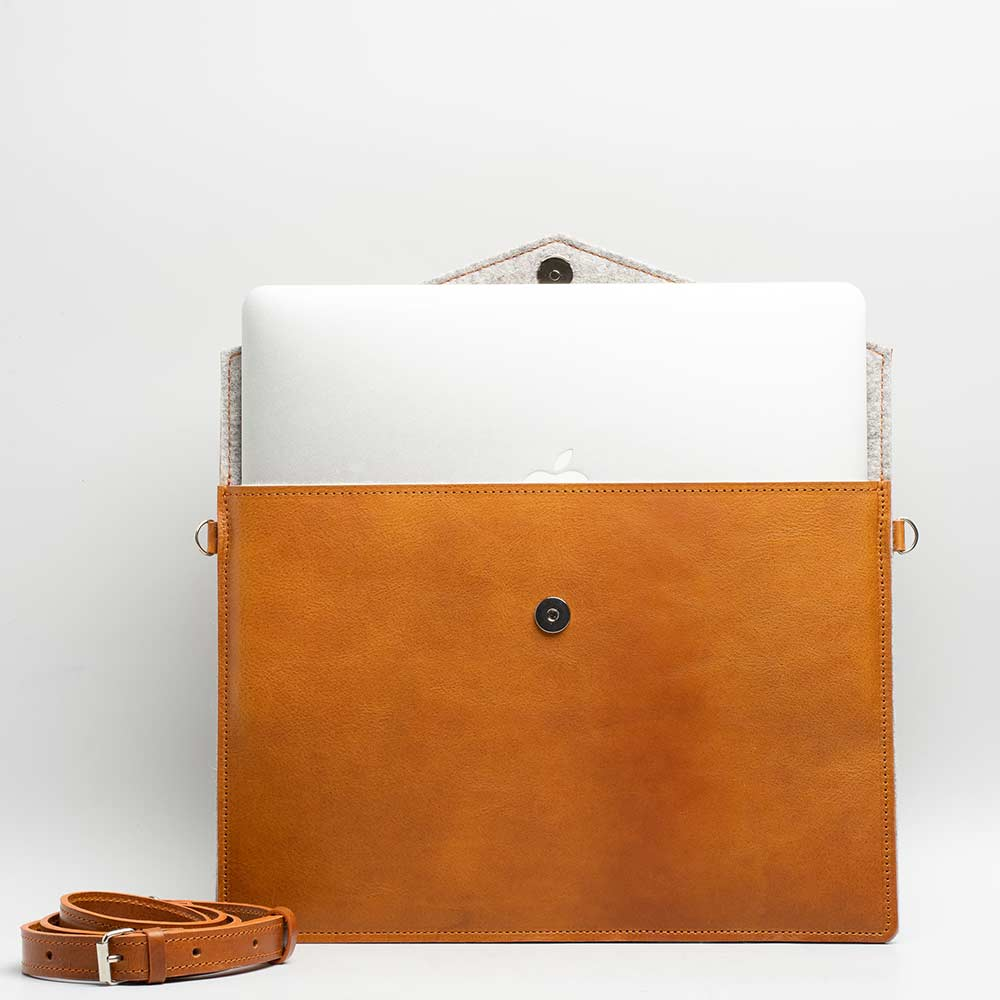 macbook air leather sleeve
