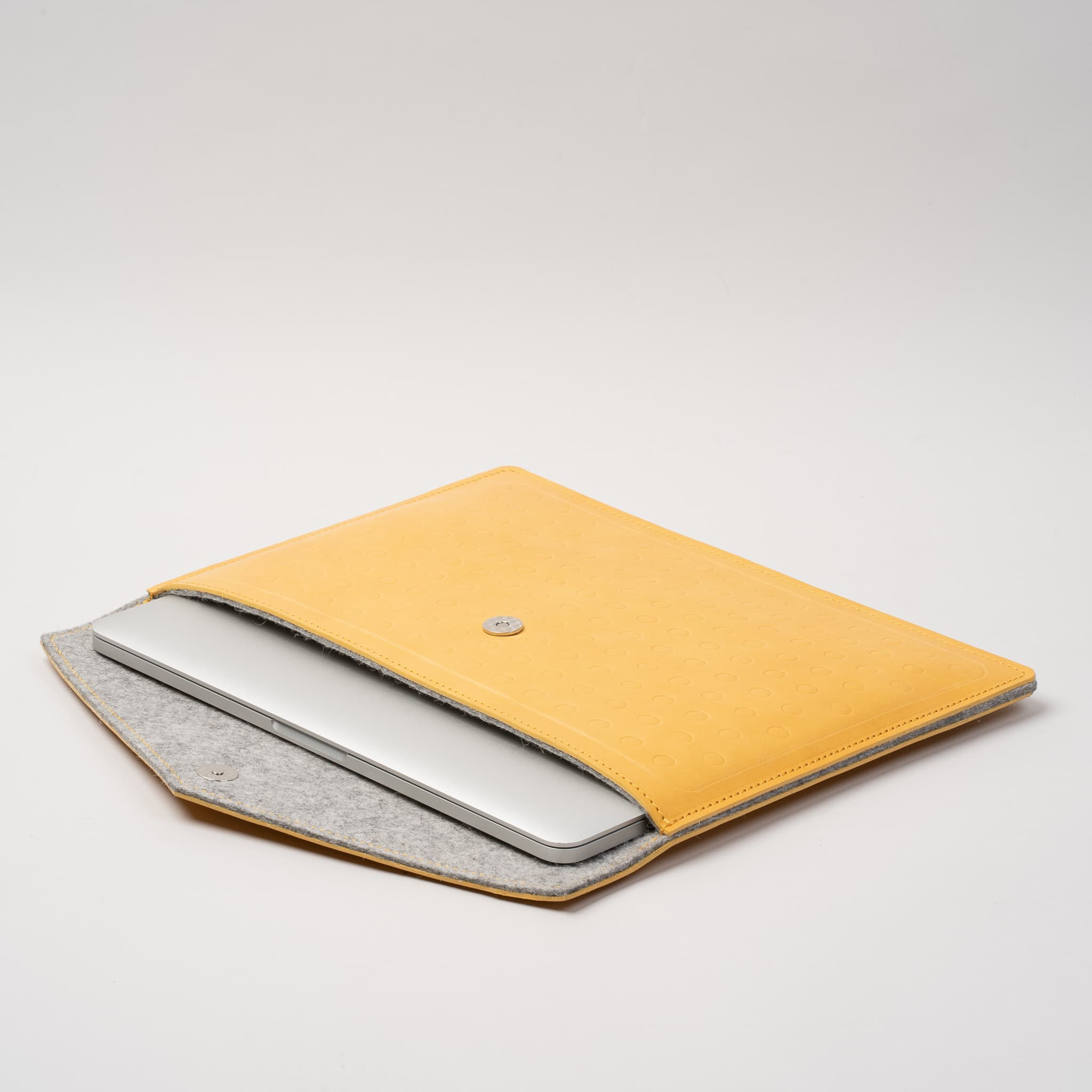 macbook air yellow case