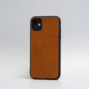 minimalist leather iphone 11 case