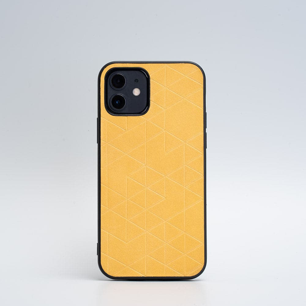 mustard yellow iphone 12 case