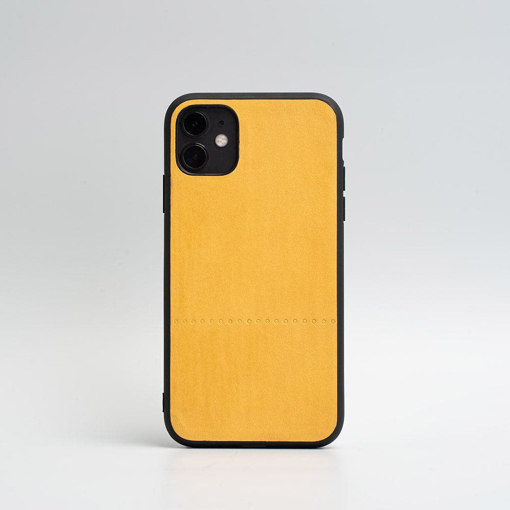 Cas de l'iphone jaune de moutarde