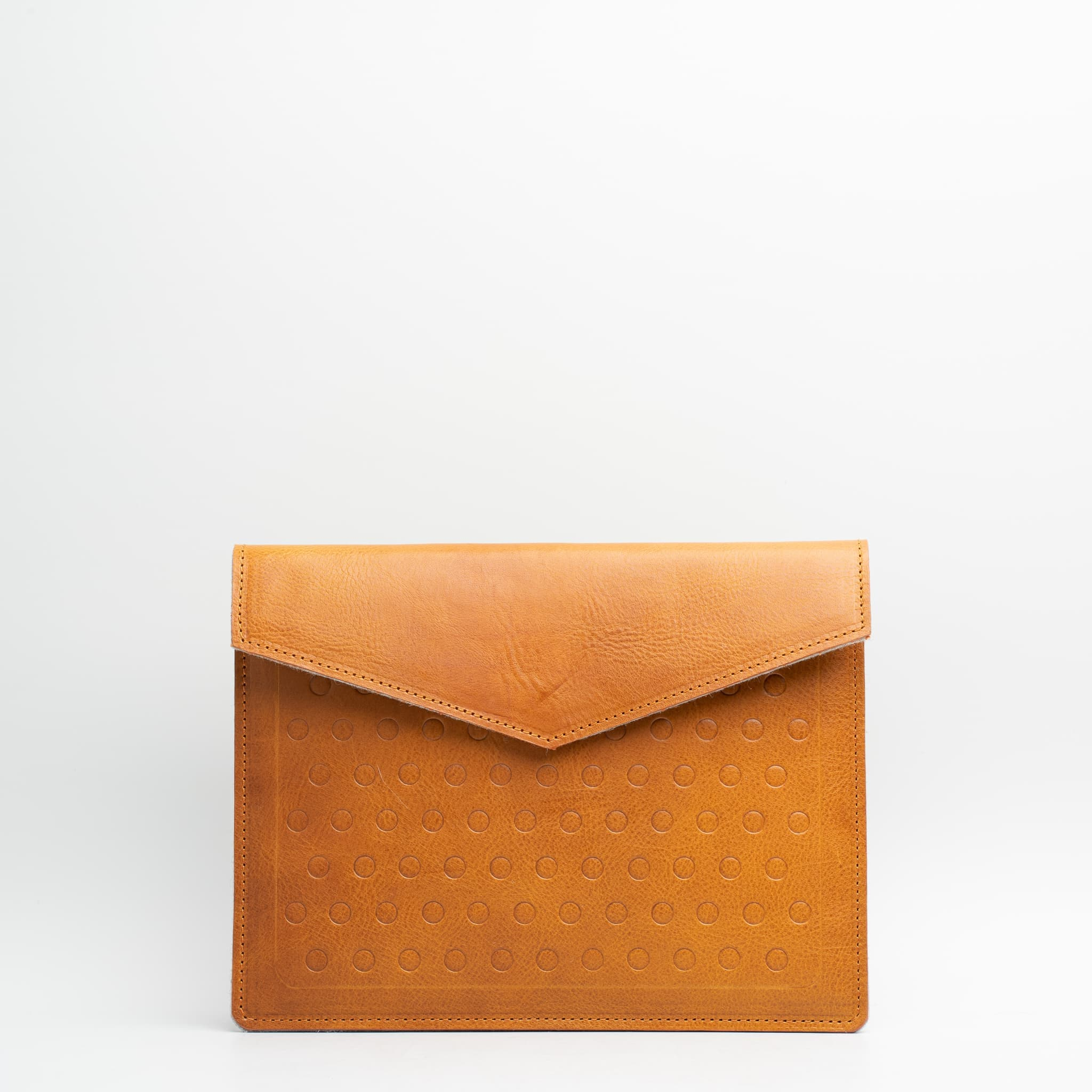personalised leather macbook sleeve