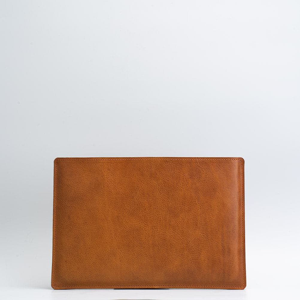 tan leather iPad pro 12.9 with keyboard sleeve