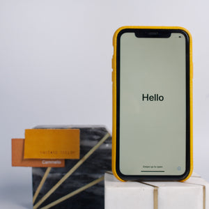 yellow iphone pro case