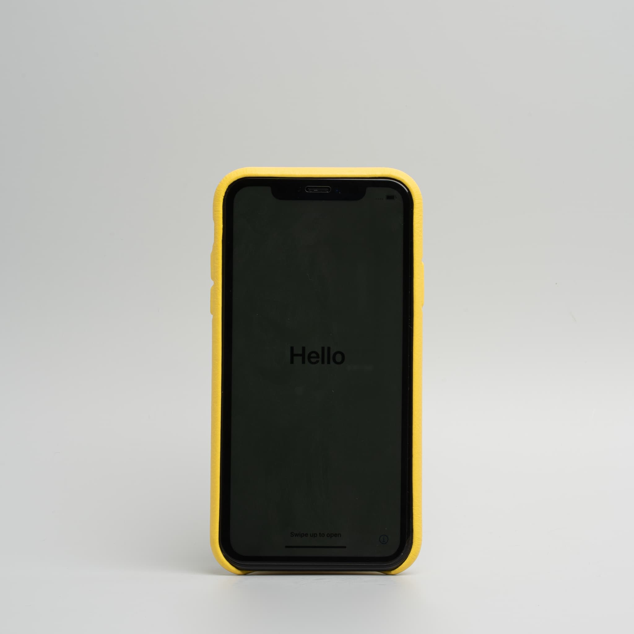 Couvercle jaune iphone 11