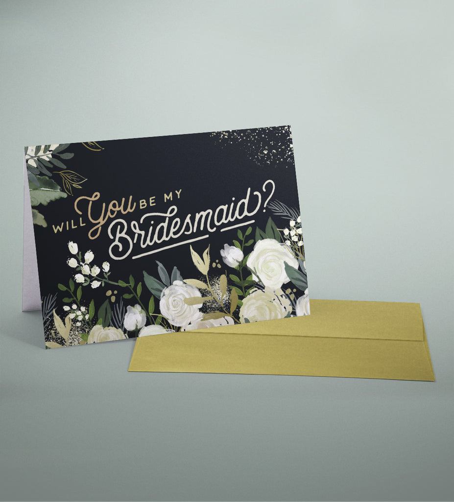 Will You Be my Bridesmaid? Set of 5 Bridesmaid Proposal Cards