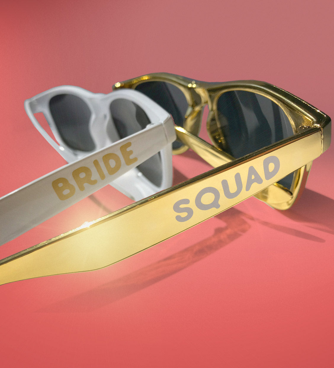 Gold Bride Squad + Bride Sunglasses