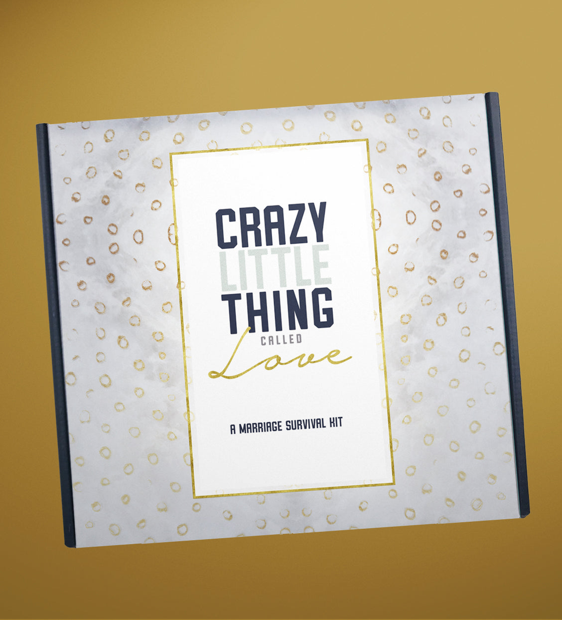 "Newlywed or Engagement Gift  |  ""Crazy Little Thing Called Love"""