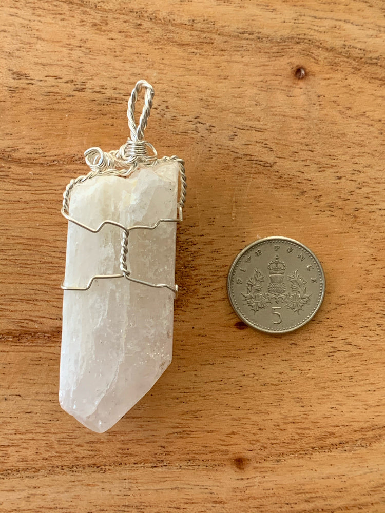 Large Danburite Pendant #1