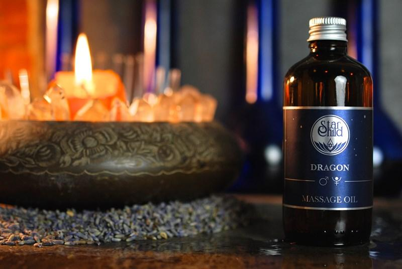 Dragon Massage Oil
