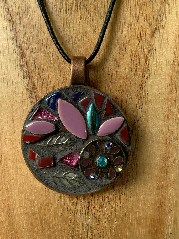 Handmade Mosaic Jewellery - Flowers in Bloom