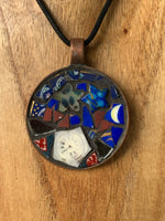 Handmade Mosaic Jewellery - Stars and Moon