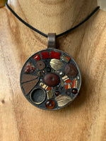 Handmade Mosaic Jewellery - Autumn