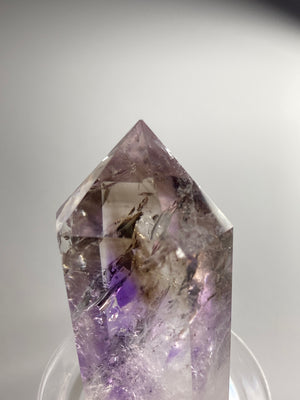 Smoky Amethyst Double Terminated Quartz
