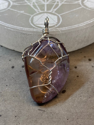 Ametrine Wire Wrapped Pendant