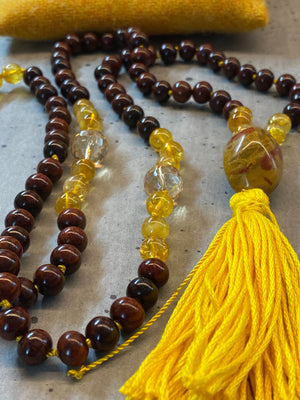 'The Fire Inside' Solar Plexus Mala