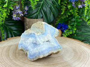 Blue Lace Agate Raw Chunk