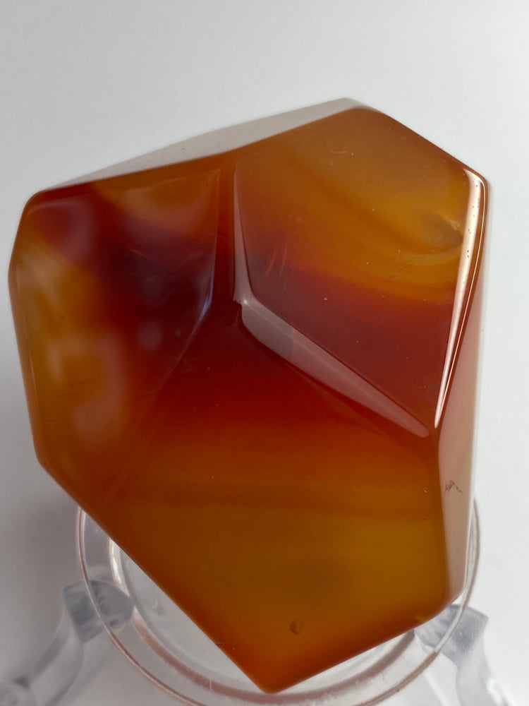 Carnelian Polished Freeform Crystal #4