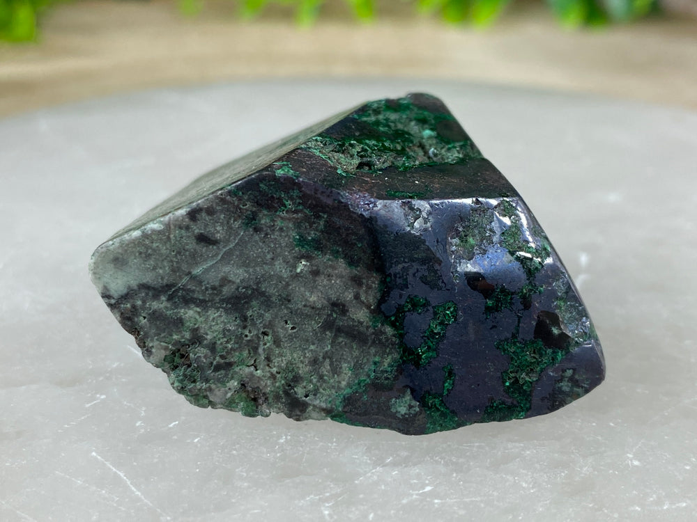 Malachite and Pyrite