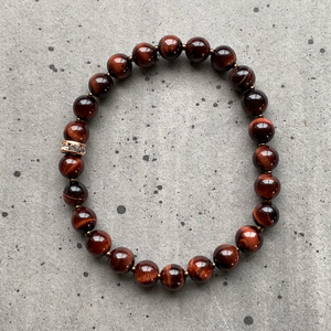 Red Tigers Eye Bracelet