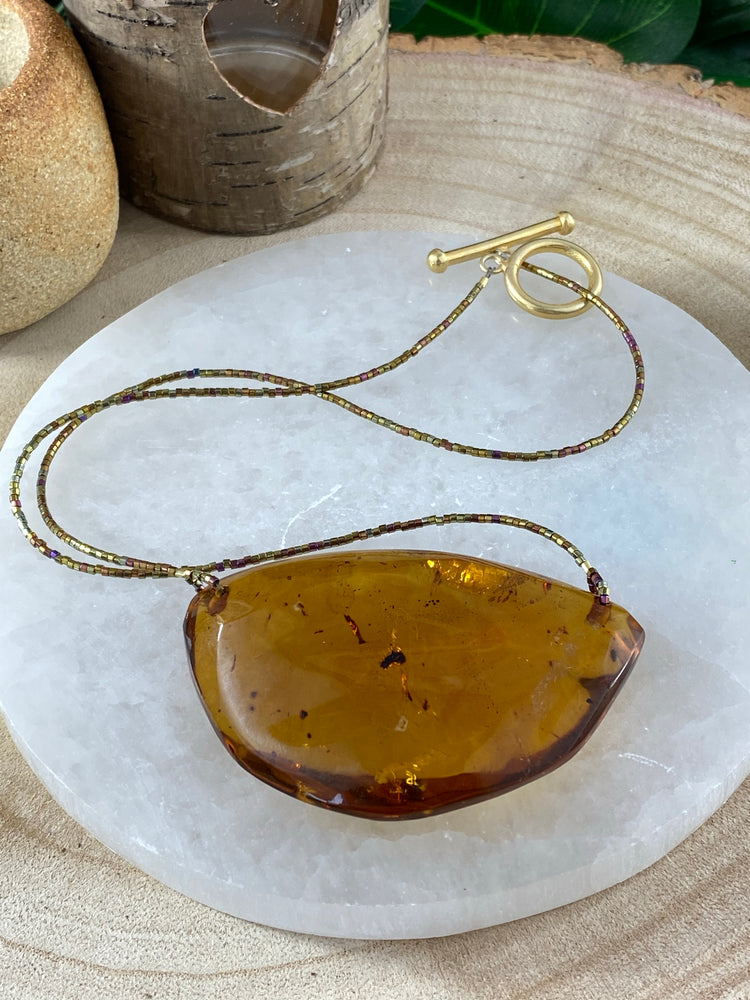 Genuine Mexican Amber Necklace