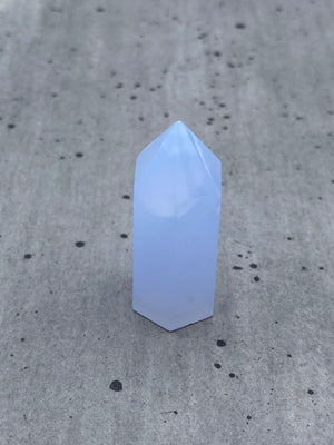 Blue Chalcedony Point