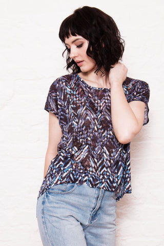 Assemble handmade kimono style knit t-shirt relaxed view