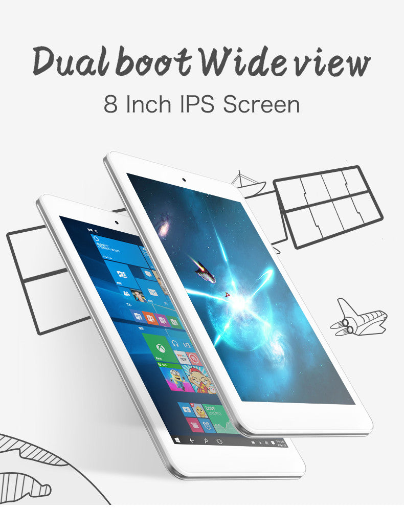 Cube iwork8 is a 8 inch windows 10 + android 5.1 dual os tablet.