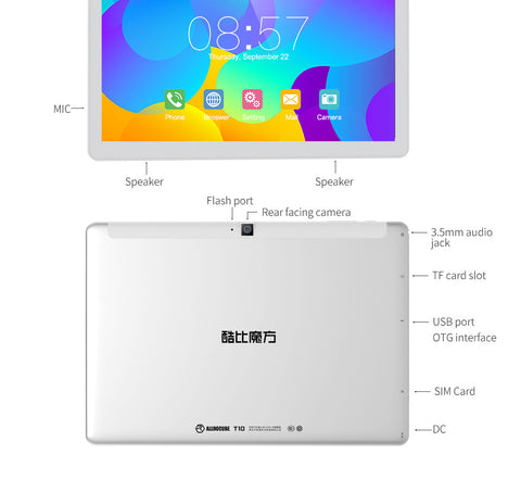 Cube T10 4G tablet is a 10.1 inch android 6.0 tablet with lots of useful ports.