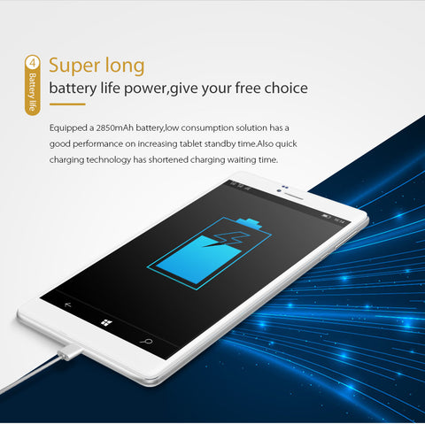 Cube WP10 is a 7 inch dual sim android 6.0 phablet. It has a 2850 mah battery and its incredibly long life.