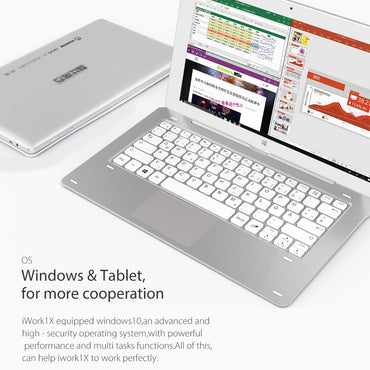 Cube iwork1x is a 11.6 inch windows 10 tablet + android 5.1 dual os tablet.