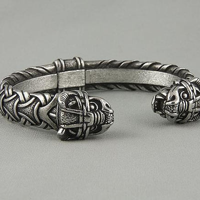 Viking Bracelet With Dragon's Head