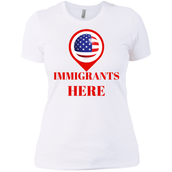 United States of Immigrants - Ladies' Boyfriend Tee