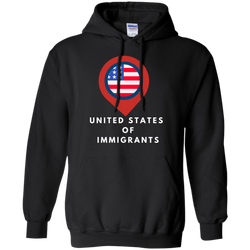 United States of Immigrant - Pullover Hoodie B
