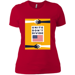 Unite Dont Divide - Ladies Tee Y
