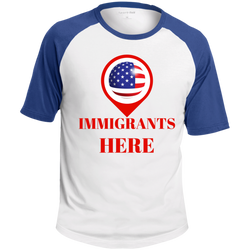 United States of Immigrants- Colorblock Raglan