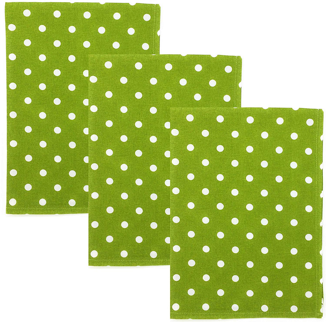 Buy Dunroven House Polka Dot Kitchen Dish Towels At Flutterhut Com