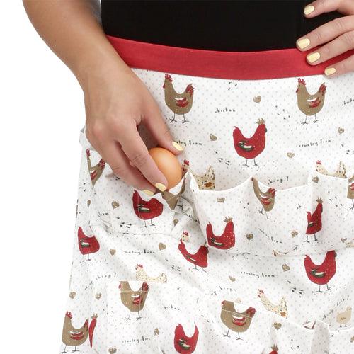 Chicken Egg Collecting & Gathering Apron