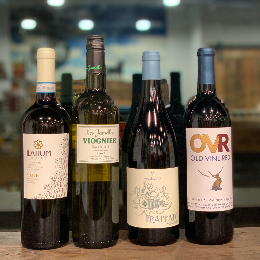 4 BEST WINES FOR THANKSGIVING!
