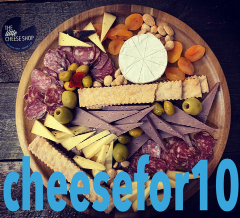 LITTLE CHEESE SHOP BOARD FOR 10 PEOPLE